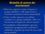 modalit di azione dei disinfettanti58