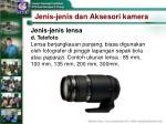 jenis jenis dan aksesori kamera21
