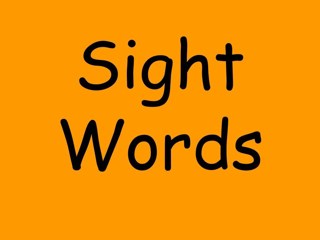 sight words l.