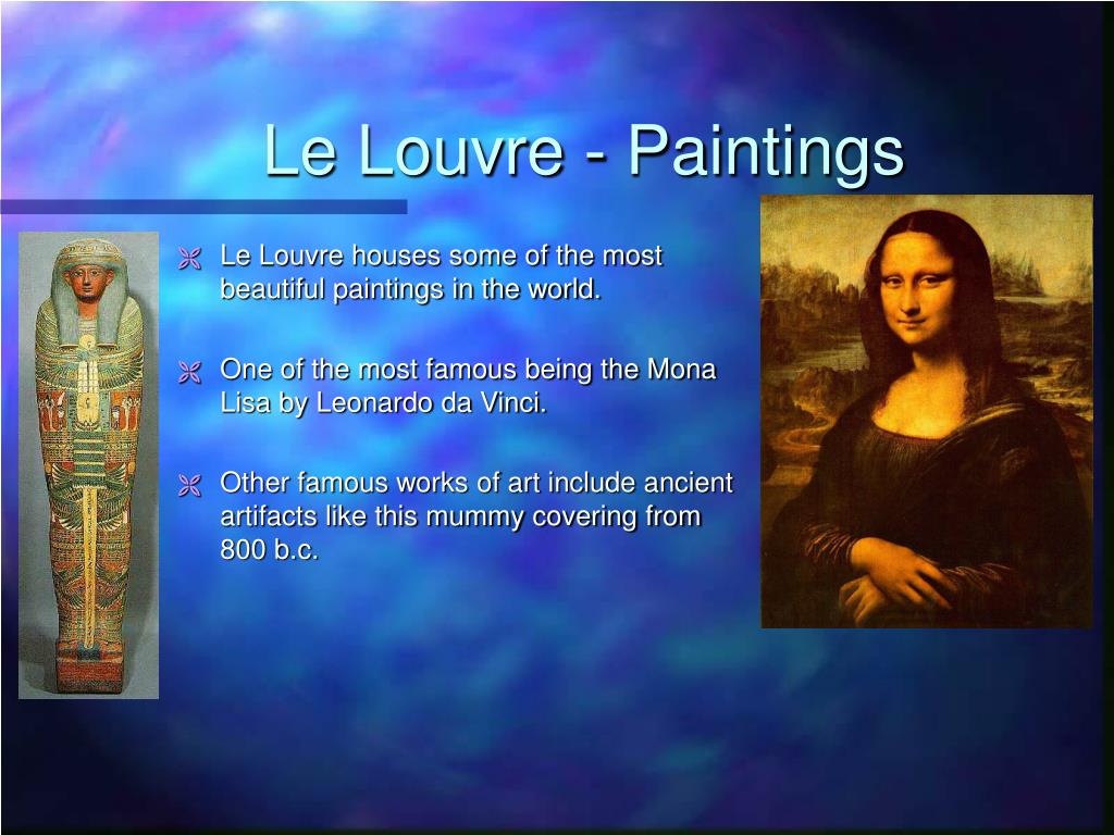 Le Louvre - Paintings