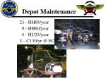 depot maintenance