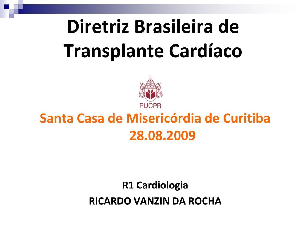 diretriz brasileira de transplante card aco l.