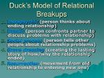 duck s model of relational breakups
