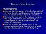 museum visit activities25