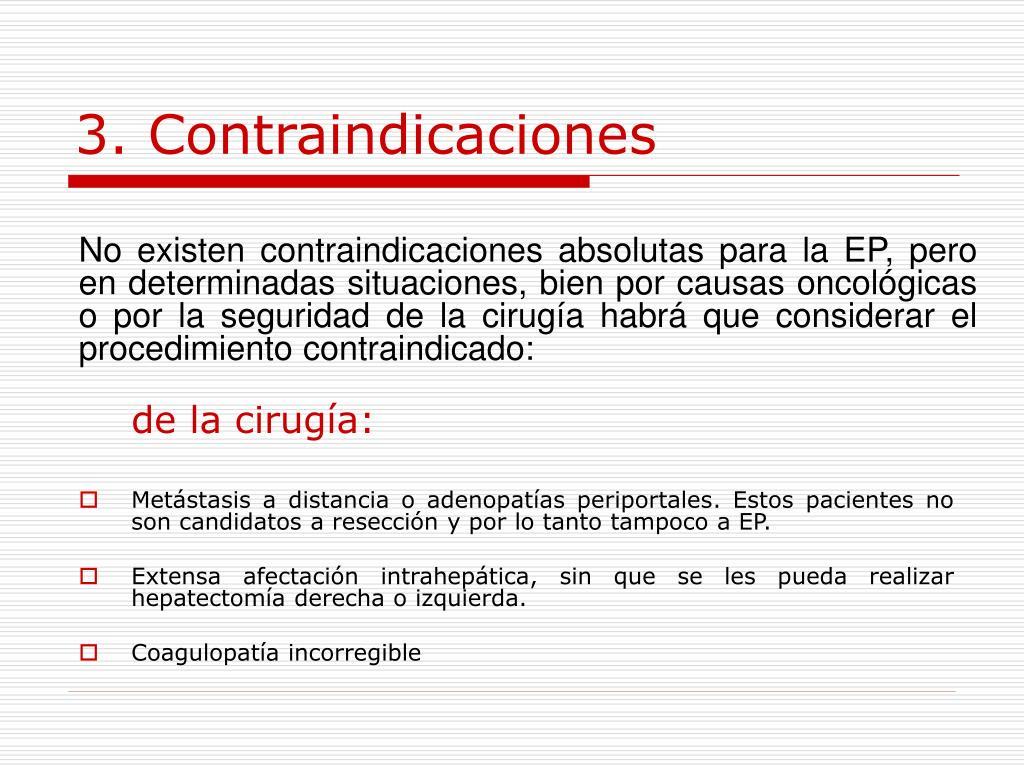 3. Contraindicaciones