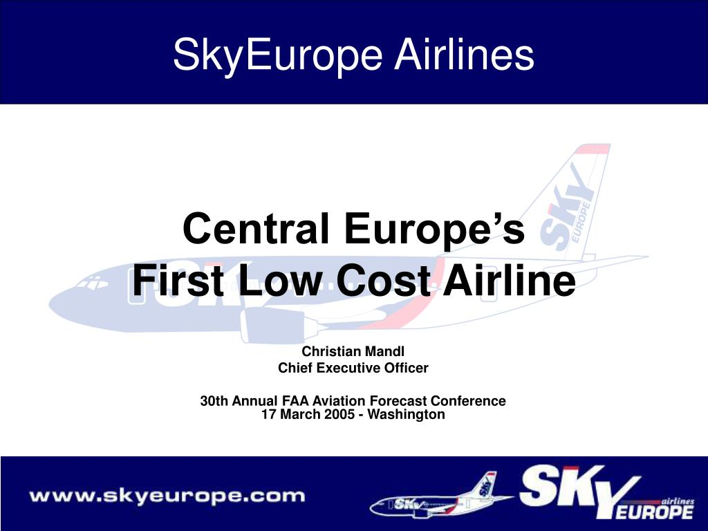 central europe s first low cost airline l.