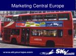 marketing central europe