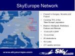 skyeurope network