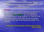 medical resonance therapy music affect autonomous innervation of cerebral arteries11