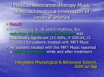 medical resonance therapy music affect autonomous innervation of cerebral arteries12