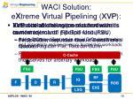waci solution e x treme v irtual p ipelining xvp10