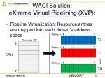 waci solution e x treme v irtual p ipelining xvp9