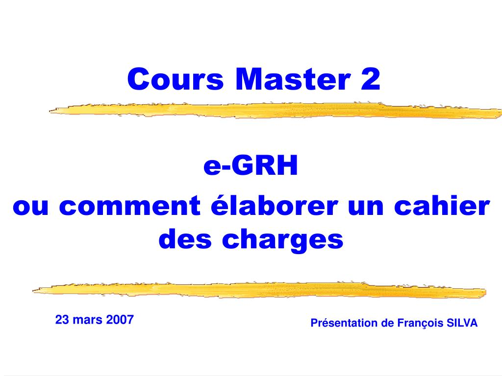 cours master 2 l.