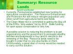 summary resource lands sarahv and rachel
