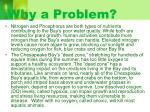 why a problem
