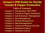 grower s ipm guide for florida tomato pepper production