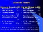 child risk factors