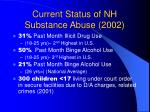 current status of nh substance abuse 2002