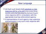 new language