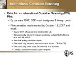 international container scanning
