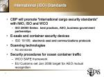 international iso standards
