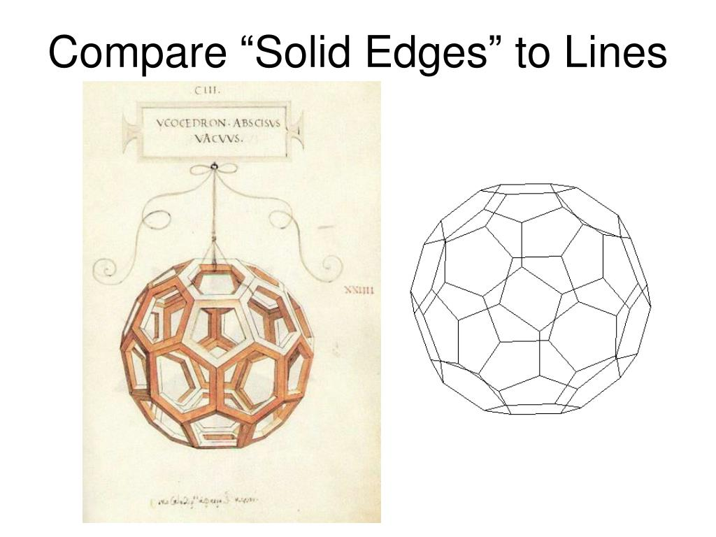 "Compare ""Solid Edges"" to Lines"