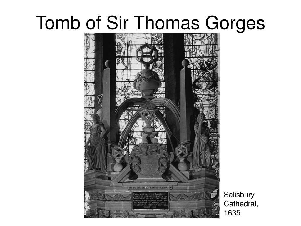 Tomb of Sir Thomas Gorges