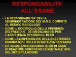 responsabilita all esame