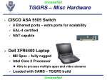 tggrs misc hardware