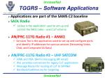 tggrs software applications