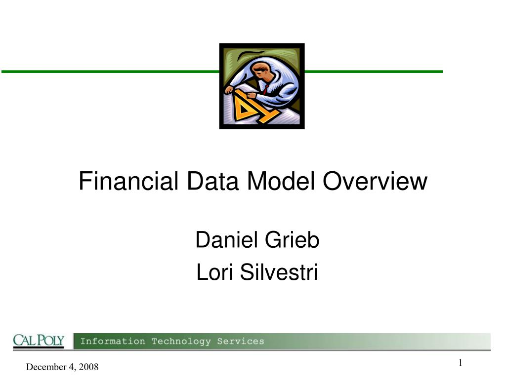 financial data model overview l.