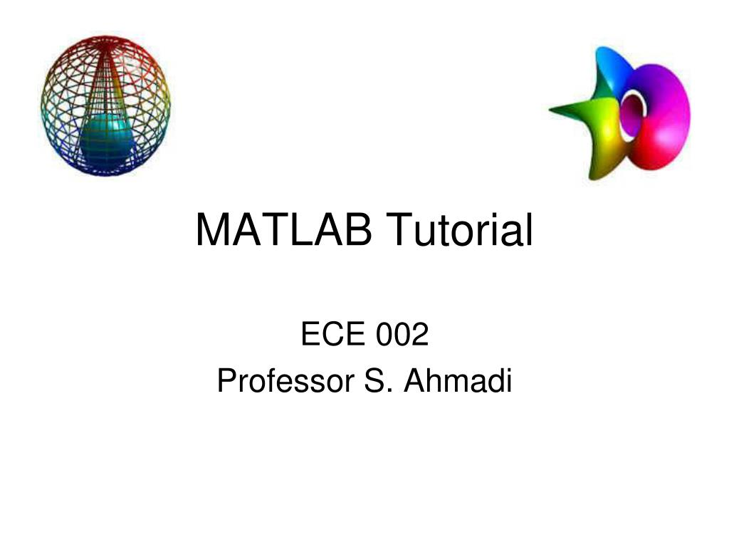 matlab tutorial l.