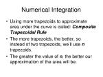 numerical integration10