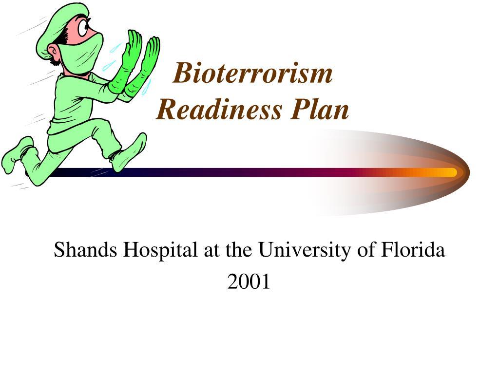 bioterrorism readiness plan l.
