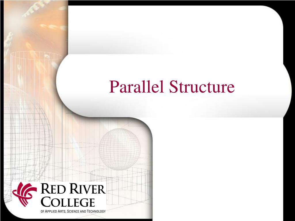 parallel structure l.