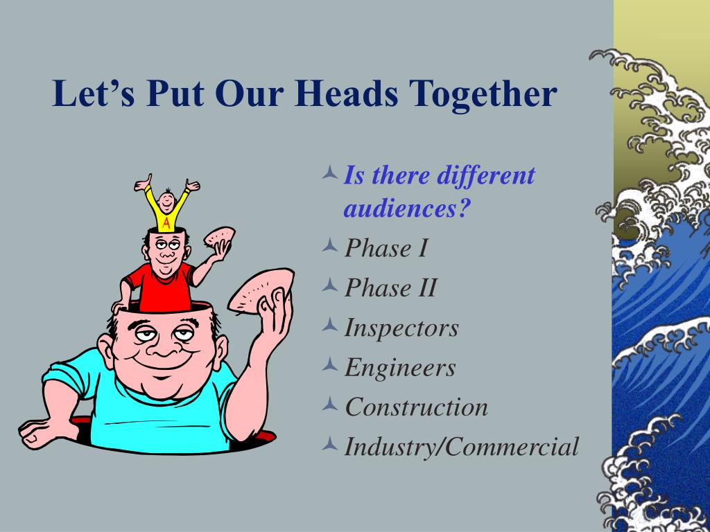 Let's Put Our Heads Together