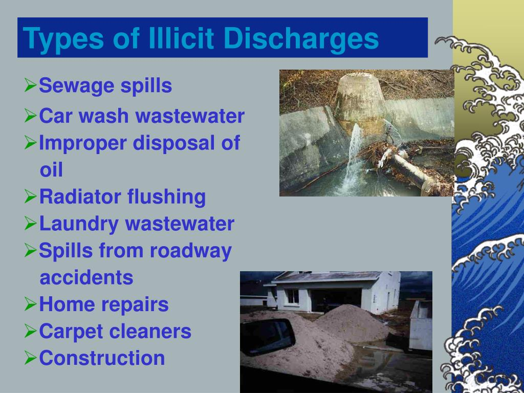Types of Illicit Discharges