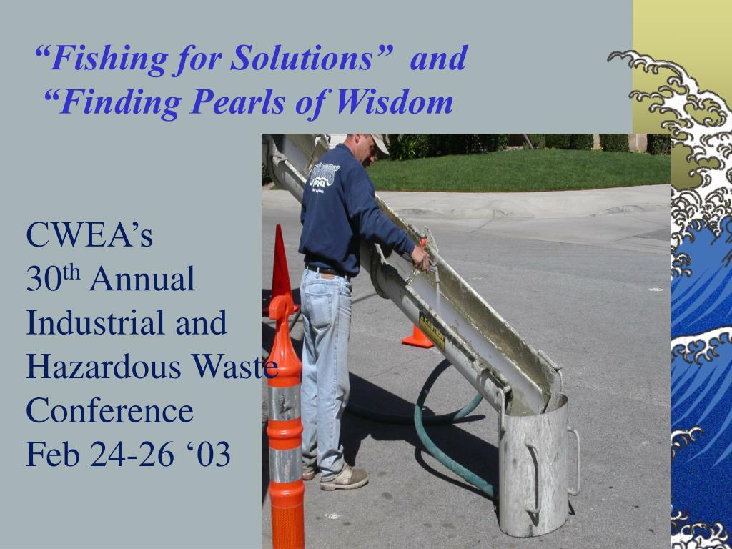 """""""Fishing for Solutions""""  and"""