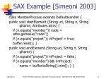 sax example simeoni 2003