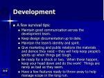 development5