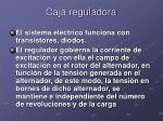 caja reguladora