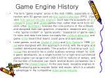 game engine history