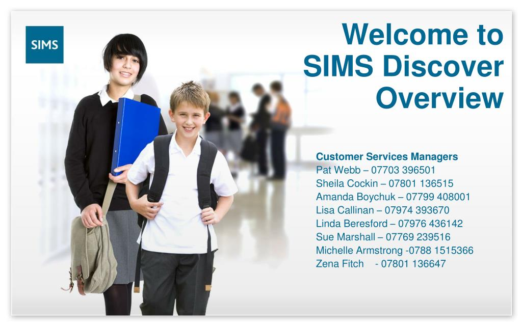 welcome to sims discover overview l.