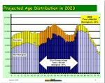 projected age distribution in 2023