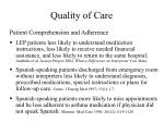 quality of care11