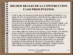 hechos reales de la construccion y los presupuestos28
