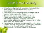 chep food security