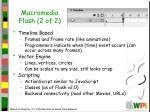 macromedia flash 2 of 2