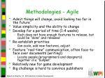 methodologies agile