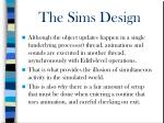 the sims design21